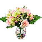 Lule artificiale Kryesore Dekor, Mëndafsh, Shape Tjera, 450x440mm, 10PC/Qese,  Qese