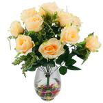 Lule artificiale Kryesore Dekor, Mëndafsh, Shape Tjera, 50x47mm, 10PC/Qese,  Qese