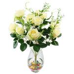 Lule artificiale Kryesore Dekor, Mëndafsh, Shape Tjera, 550x330mm, 10PC/Qese,  Qese