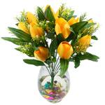 Lule artificiale Kryesore Dekor, Mëndafsh, Shape Tjera, ar, 480x370mm, 10PC/Qese,  Qese