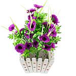 Lule artificiale Kryesore Dekor, Mëndafsh, Shape Tjera, vjollcë, 500x300mm, 10PC/Qese,  Qese