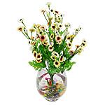 Lule artificiale Kryesore Dekor, Mëndafsh, Shape Tjera, 440x240mm, 10PC/Qese,  Qese