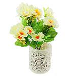 Lule artificiale Kryesore Dekor, Mëndafsh, Shape Tjera, e bardhë, 330x200mm, 10PC/Qese,  Qese