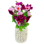 Lule artificiale Kryesore Dekor, Mëndafsh, Shape Tjera, 330x200mm, 10PC/Qese,  Qese