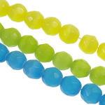 Cats Beads bizhuteri Syri, Cats Eye, Round, 6mm, : 1mm, :14.6Inç, 10Fillesat/Qese,  Qese