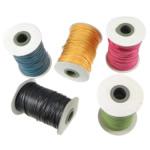 Cord Wax, ngjyra të përziera, 2mm, :100Oborr, 3PC/Shumë,  Shumë