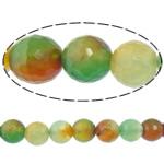 Rainbow Natyrore Beads agat, Rainbow agat, Round, asnjë, makinë faceted, 10mm, : 2mm, : 15Inç, 5Fillesat/Shumë,  Shumë