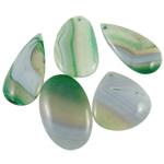 Agat pendants bizhuteri, dantella agat, i përzier, 45-62mm, : 2-2.5mm, 20PC/Qese,  Qese