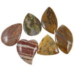 Agat pendants bizhuteri, Agat Original Color, i përzier, 43-65mm, : 2-2.5mm, 20PC/Qese,  Qese