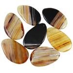 Agat pendants bizhuteri, dantella agat, i përzier, 48-50mm, : 2-2.5mm, 20PC/Qese,  Qese