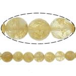Beads Stone Kafe, Round, 6mm, : 1.2mm, :15Inç, 10Fillesat/Shumë,  Shumë