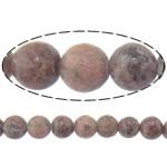 Beads rodoniti, Round, natyror, 8mm, : 2mm, :15.5Inç, 10Fillesat/Shumë,  Shumë
