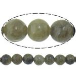 Beads labradorite, Round, natyror, i importuar, 8mm, : 2.2mm, :16Inç, 10PC/Shumë,  Shumë