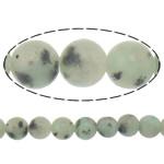 Lotus Jaspis Perlen, Lotos Jaspis, rund, natürlich, 14mm, Bohrung:ca. 1.2-1.4mm, Länge:ca. 15 ZollInch, 10SträngeStrang/Menge, ca. 27PCs/Strang, verkauft von Menge