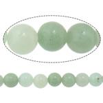 Amazonit Perlen, rund, natürlich, 8mm, Bohrung:ca. 1.2mm, Länge:ca. 15 ZollInch, 5SträngeStrang/Menge, ca. 46PCs/Strang, verkauft von Menge