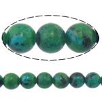 Demidowit Perle, rund, natürlich, 14mm, Bohrung:ca. 1.2mm, Länge:ca. 15 ZollInch, 10SträngeStrang/Menge, ca. 27PCs/Strang, verkauft von Menge