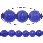 Beads Mermer Natyrore, Round, 6mm, : 1.2mm, :15.5Inç, 10Fillesat/Shumë,  Shumë