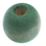 Beads druri, Daulle, i lyer, e gjelbër, 9x10mm, : 3.5mm, 1500PC/Qese,  Qese