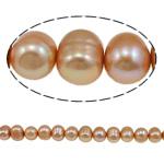 Barok Beads kulturuar Pearl ujërave të ëmbla, Pearl kulturuar ujërave të ëmbla, Round, i lyer, 8-9mm, : 1mm, :15.7Inç,  15.7Inç,