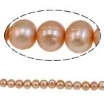 Barok Beads kulturuar Pearl ujërave të ëmbla, Pearl kulturuar ujërave të ëmbla, i lyer, 5-6mm, : 1mm, :15.4Inç,  15.4Inç,