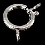 Pranvera Brass Ring kapje, Tunxh, Shape Tjera, ngjyrë platin praruar, vetme-fillesë, asnjë, , nikel çojë \x26amp; kadmium falas, 18x3mm, : 3mm, 200PC/Qese,  Qese