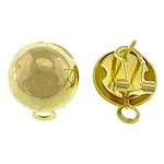 Clip tunxh Në Vath Finding, Shape Tjera, ngjyrë ari praruar, asnjë, asnjë, , nikel çojë \x26amp; kadmium falas, 14x19x1mm, : 3mm, 100Çiftet/Qese,  Qese
