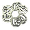 Bali Sterling Silver Bead Caps, Tajlandë, Lule, asnjë, asnjë, 8.50x2mm, : 2mm, 30PC/Qese,  Qese