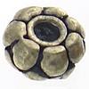 Bali Sterling Silver Beads, Tajlandë, Rondelle, asnjë, asnjë, asnjë, 5.50x4.50mm, : 2mm, 30PC/Qese,  Qese