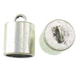 Zink Alloy Cap Fundi, Alloy zink, Shape Tjera, Ngjyra antike argjendi praruar, asnjë, asnjë, , nikel çojë \x26amp; kadmium falas, 16.50x22.50mm, : 4.5mm, : 13.8mm, 133PC/KG,  KG