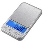 Digital Scale Pocket, ABS plastike, Drejtkëndësh, asnjë, asnjë, asnjë, 120x72x20mm,  PC