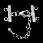 925 Sterling Silver kapje karavidhe Claw, Shape Tjera, argjend praruar vërtetë, asnjë, asnjë, 33mm, 16x12x3mm, 10x6x3mm, : 2mm, 3Sets/Shumë,  Shumë