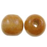 Beads druri, Round, i lyer, asnjë, portokall, 14mm, : 4mm, 555PC/Qese,  Qese