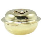 Hekuri Pendants Bell, Zile, ngjyra të ndritshme ari praruar, asnjë, asnjë, , nikel çojë \x26amp; kadmium falas, 20x13mm, : 6x2mm, 1000PC/Qese,  Qese