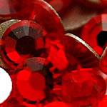 Cabochons Crystal, Kristal, Kube, i praruar, asnjë, Zymbyl, Një, 1.7-1.8mm, 10Grosses/Qese,  Qese