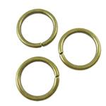 Iron Mbyllur Ring Jump, Hekur, Petull e ëmbël në formë gjevreku, Ngjyra antike bronz i praruar, asnjë, asnjë, , nikel çojë \x26amp; kadmium falas, 10x1.2mm, : 7.8mm, 4285PC/KG,  KG