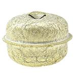 Hekuri Pendants Bell, Zile, ngjyra të ndritshme ari praruar, Stardust, asnjë, , nikel çojë \x26amp; kadmium falas, 32x25mm, : 6x4mm, 150PC/Qese,  Qese