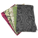 Shall pambuku, Shape Tjera, asnjë, ngjyra të përziera, 190x70cm, 10Fillesat/Qese,  Qese
