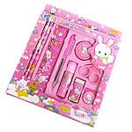 Letër shkrimi, Plastik, Drejtkëndësh, asnjë, rozë, 195x195x20mm, 10PC/Shumë,  Shumë