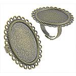Tunxh, Shape Tjera, Ngjyra antike bronz i praruar, asnjë, asnjë, , nikel çojë \x26amp; kadmium falas, 34x28mm, : 26x20mm, 200PC/Qese,  Qese