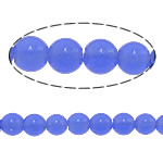 Beads Round Crystal, Kristal, Safir, 14mm, : 1.5mm, :15.5Inç, 5Fillesat/Shumë,  Shumë