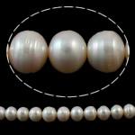 Barok Beads kulturuar Pearl ujërave të ëmbla, Pearl kulturuar ujërave të ëmbla, Round, natyror, e bardhë, 12-16mm, : 1mm, :15.3Inç,  15.3Inç,