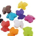 Akrilik Beads i mbuluar me brymë, Bear, asnjë, ngjyra të përziera, 15x18x9.50mm, : 1mm, 5KG/Shumë,  Shumë