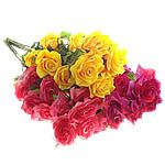 Lule artificiale Kryesore Dekor, Mëndafsh, asnjë, asnjë, ngjyra të përziera, 250x900x200mm, 10PC/Shumë,  Shumë