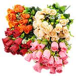 Lule artificiale Kryesore Dekor, Mëndafsh, Shape Tjera, asnjë, asnjë, ngjyra të përziera, 250x470x240mm, 10PC/Shumë,  Shumë