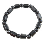 Hematite Bracelet, different styles for choice, A Grade, 8x10mm,8mm, Sold Per 7.5 Inch Strand