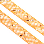 Plastike Cord Net Thread, portokall, 8mm, :25m,  Shumë