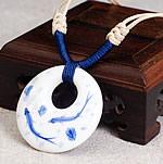 Gjerdan Porcelani, with Cord Wax, Petull e ëmbël në formë gjevreku, punuar me dorë, asnjë, dy-ton, 38mm, : 14-26Inç, 4Fillesat/Shumë,  Shumë