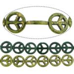Bruz Beads, Bruz sintetike, Round Flat, asnjë, asnjë, ngjyra të përziera, 20x20x4mm, : 1mm, :16Inç, 30Fillesat/Shumë,  Shumë