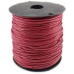 Cord Wax, i kuq, 1.5mm, :80Oborr,  PC