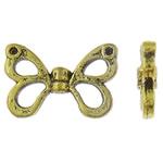 Beads Alloy zink Kafshëve, Flutur, Ngjyra antike ari praruar, asnjë, asnjë, , nikel çojë \x26amp; kadmium falas, 15x10x3mm, : 1mm, 50PC/Qese,  Qese